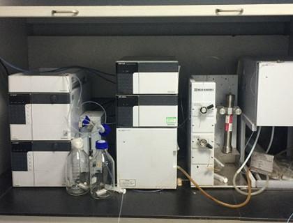 High Pressure Preparative chromatograph 420 320